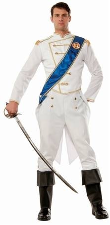 DELUXE PRINCE COSTUME FOR MEN
