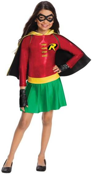 DELUXE ROBIN COSTUME FOR GIRLS