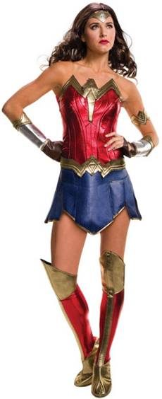 BvS DELUXE WONDER WOMAN COSTUME FOR WOMEN