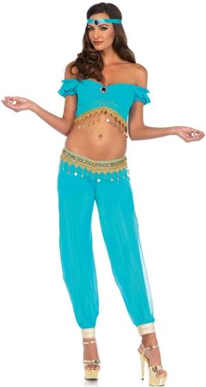 DESERT BEAUTY PRINCESS JASMINE COSTUME FOR WOMEN