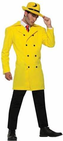 DICK TRACY GANGSTER JACKET FOR MEN