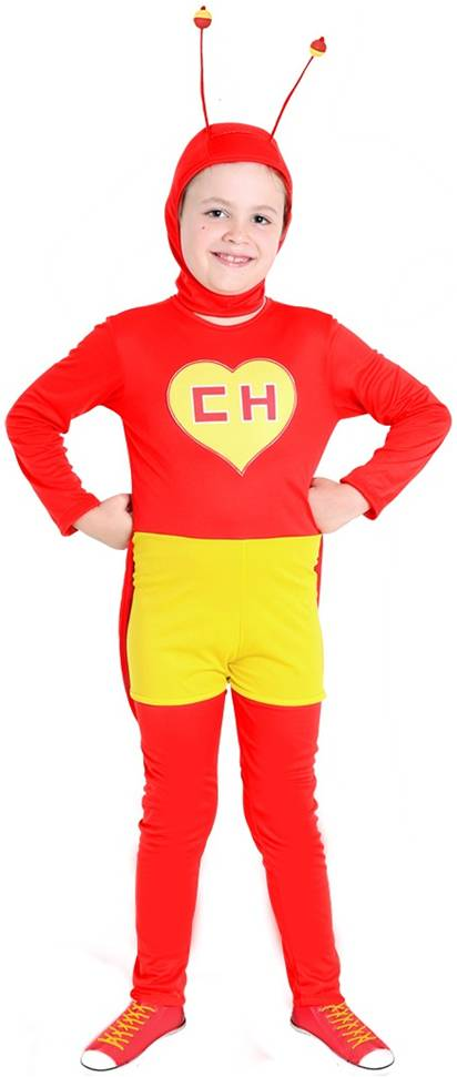 *STORE ONLY* CHAPULIN COLORADO COSTUME FOR BOYS