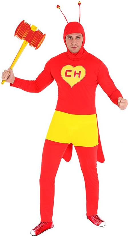 *STORE ONLY* CHAPULIN COLORADO COSTUME FOR MEN