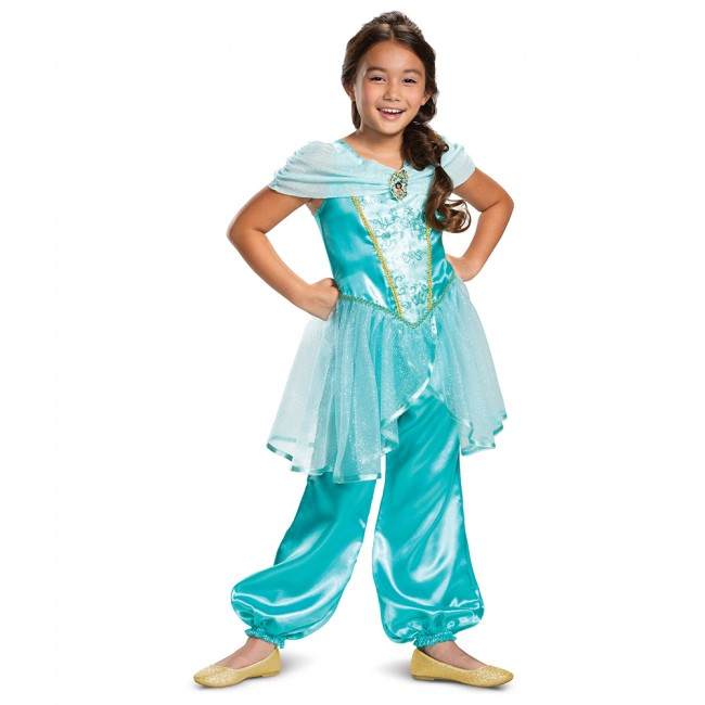 DISNEY'S ALADDIN CLASSIC JASMINE COSTUME FOR GIRLS