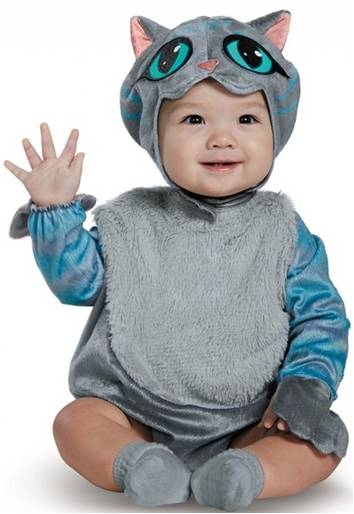 CHESHIRE CAT COSTUME FOR NEWBORNS AND INFANTS