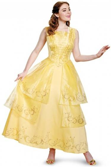 BEAUTY BELLE BALL GOWN PRESTIGE COSTUME FOR WOMEN