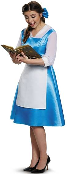 BEAUTY BELLE BLUE TOWN DRESS COSTUME FOR WOMEN