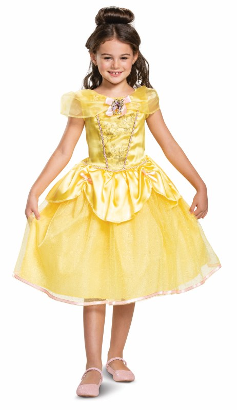 DISNEYS BEAUTY & THE BEAST BELLE COSTUME FOR GIRLS