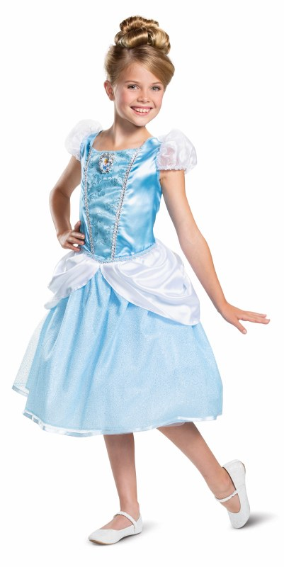 DISNEY'S CLASSIC CINDERELLA COSTUME FOR GIRLS