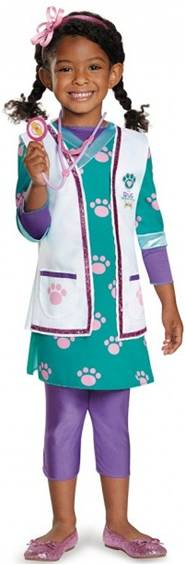 DISNEY DOC MCSTUFFINS DELUXE COSTUME FOR GIRLS