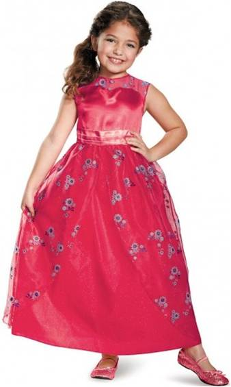 DISNEY'S ELENA OF AVALOR CLASSIC GOWN FOR GIRLS