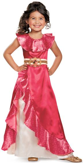 DISNEY'S ELENA OF AVALOR CLASSIC DRESS FOR GIRLS