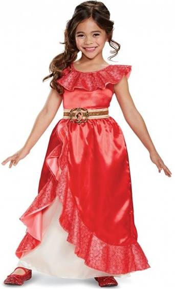 DISNEY'S ELENA OF AVALOR DELUXE DRESS FOR GIRLS