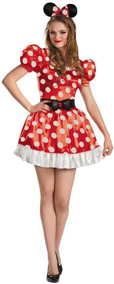 SASSY MINNIE MOUSE  sc 1 st  Crazy For Costumes : teen minnie mouse costume  - Germanpascual.Com
