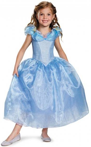 DELUXE CINDERELLA MOVIE COSTUME FOR GIRLS