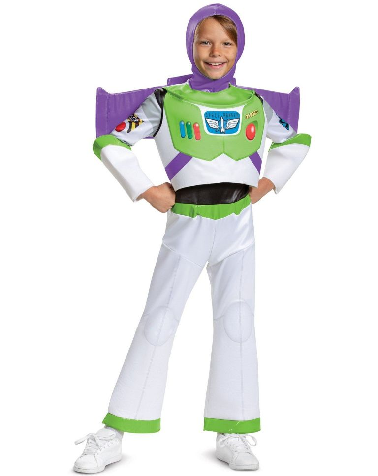 TOY STORY DELUXE BUZZ LIGHTYEAR COSTUME FOR BOYS