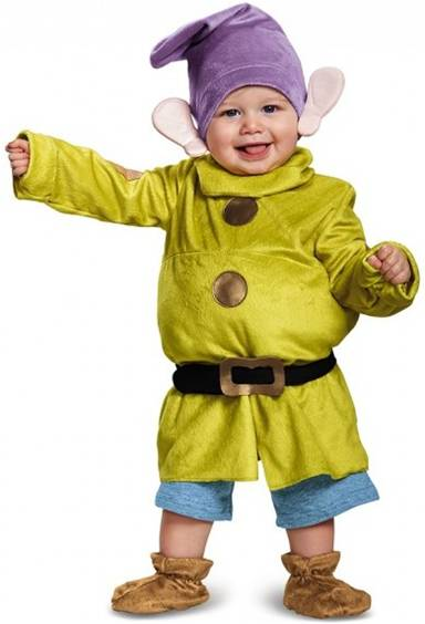 DELUXE DOPEY COSTUME FOR INFANT/BABY BOYS
