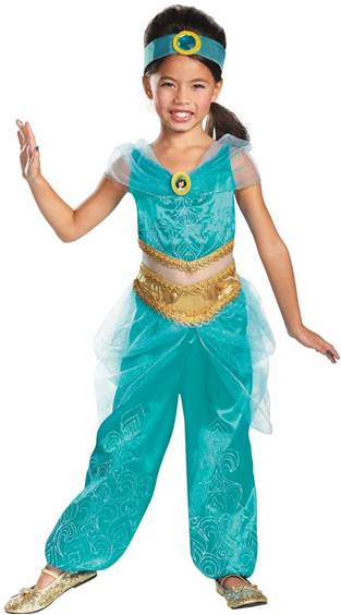 DISNEYu0027S JASMINE DELUXE $39.99  sc 1 st  Crazy For Costumes/La Casa De Los Trucos (305) 858-5029 - Miami ... : best princess jasmine costume  - Germanpascual.Com
