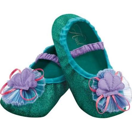 DISNEY'S LITTLE MERMAID SLIPPERS FOR TODDLERS
