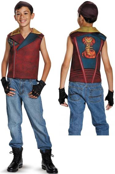 DESCENDANTS DELUXE JAY COSTUME FOR BOYS
