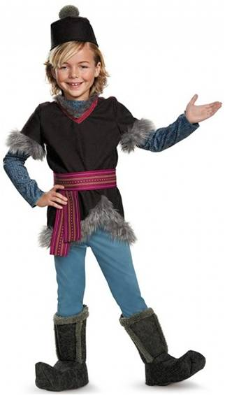 DISNEY'S FROZEN DELUXE KRISTOFF COSTUME FOR BOYS