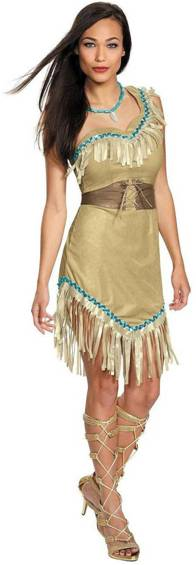 DISNEY'S POCAHONTAS PRESTIGE COSTUME FOR WOMEN