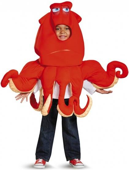 HANK THE SEPTAPUS COSTUME FOR BOYS