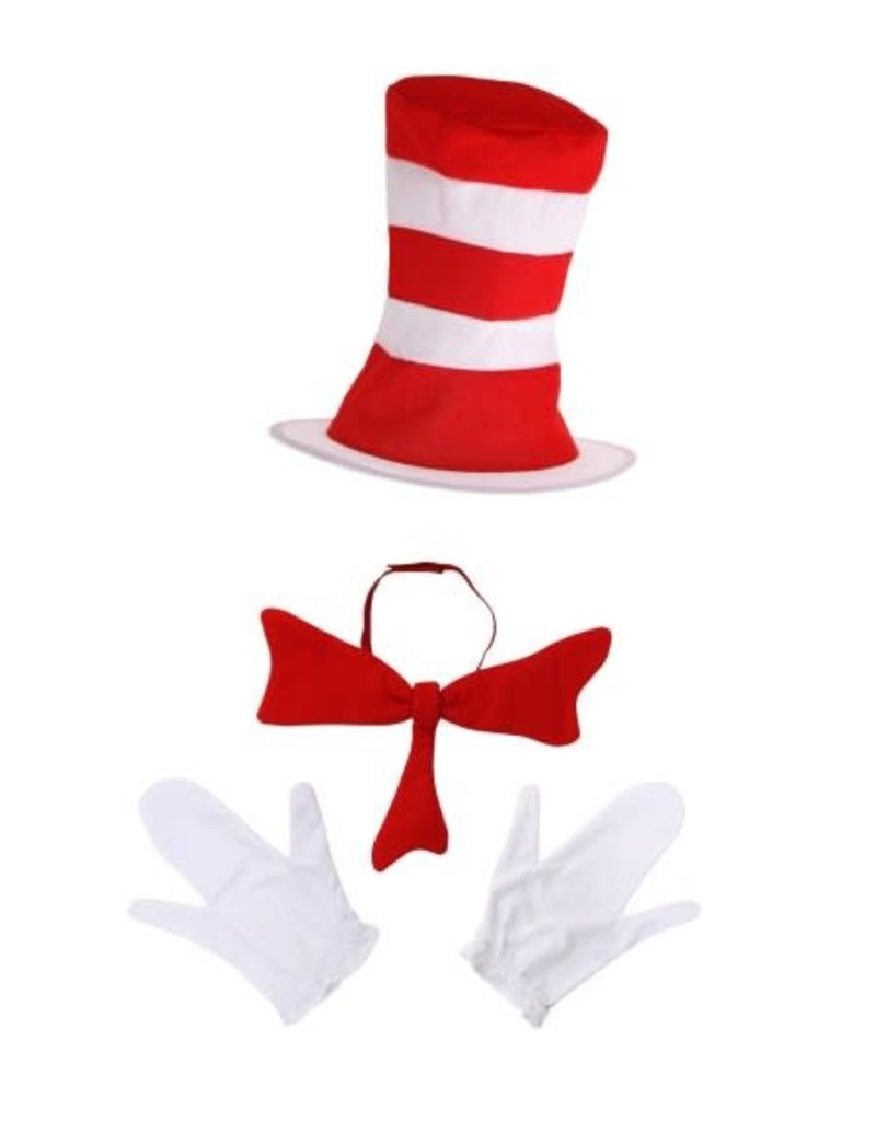DR. SEUSS' CAT IN THE HAT ACCESSORY KIT FOR KIDS