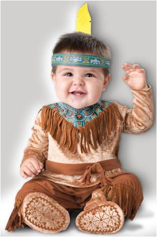 DREAM CATCHER INDIAN COSTUME FOR NEWBORN INFANT