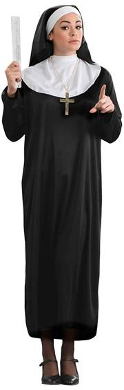 ECONOMICAL NUN COSTUME FOR WOMEN