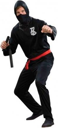 ECONOMICAL NINJA COSTUME FOR MEN