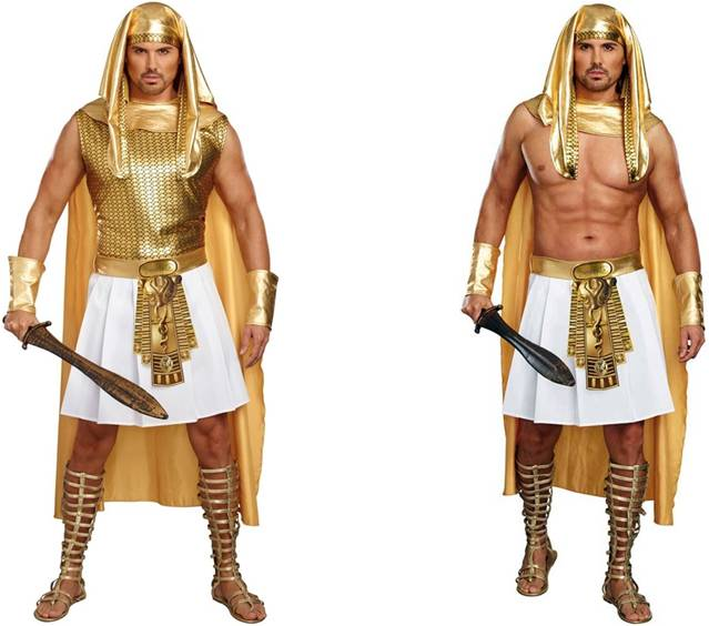 EGYPTIAN RAMSES SEXY COSTUME FOR MEN