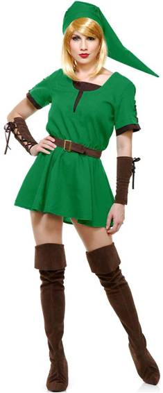 DELUXE ELF PRINCESS COSTUME FOR WOMEN