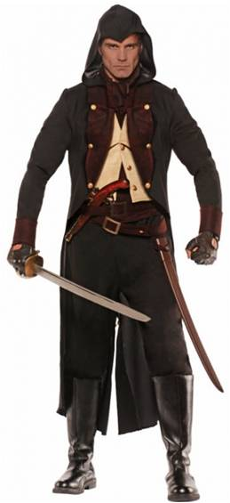 ELIMINATOR ASSASSIN PIRATE COSTUME FOR MEN