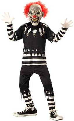 CREEPY CLOWN COSTUME FOR BOYS