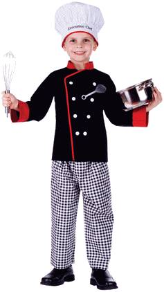 EXECUTIVE CHEF COSTUME FOR BOYS OR GIRLS