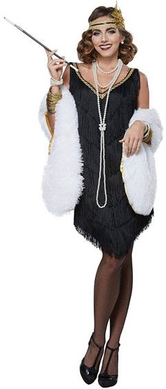 FABULOUS FLAPPER COSTUME FOR WOMEN