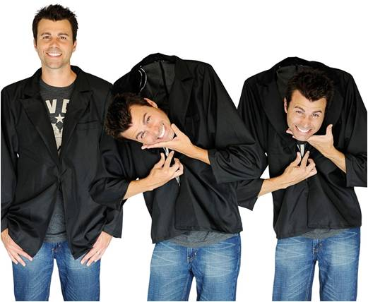 FALLING HEAD ILLUSION COSTUME FOR ADULTS
