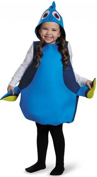FINDING DORY COSTUME FOR KIDS GIRLS
