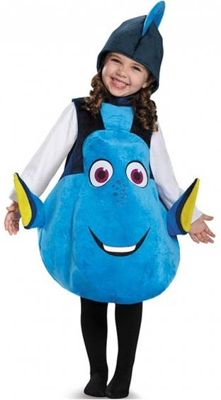 FINDING DORY COSTUME FOR TODDLERS