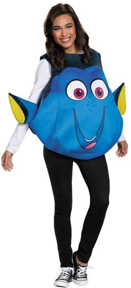 FINDING DORY COSTUME FOR ADULTS