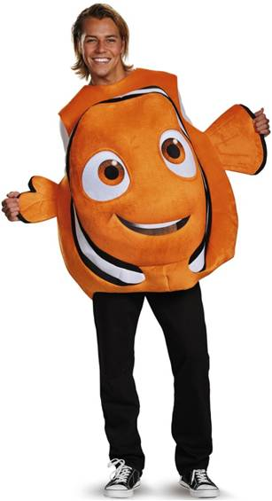 FINDING NEMO COSTUME FOR ADULTS
