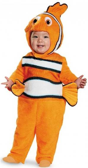 NEMO COSTUME FOR INFANTS