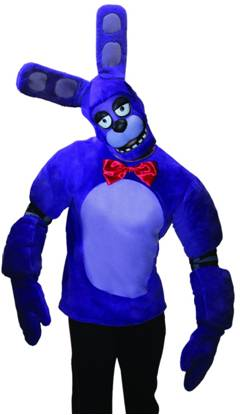 FIVE NIGHTS AT FREDDY'S BONNIE COSTUME FOR ADULTS