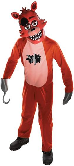 FIVE NIGHTS AT FREDDY'S FOXY COSTUME FOR BOYS