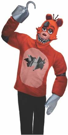 FIVE NIGHTS AT FREDDY'S FOXY COSTUME FOR MEN