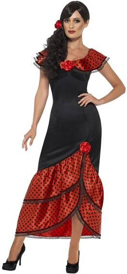 FLAMENCO SEÑORITA COSTUME FOR WOMEN