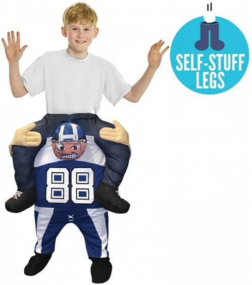 FOOTBALL RIDE-ON COSTUME FOR KIDS