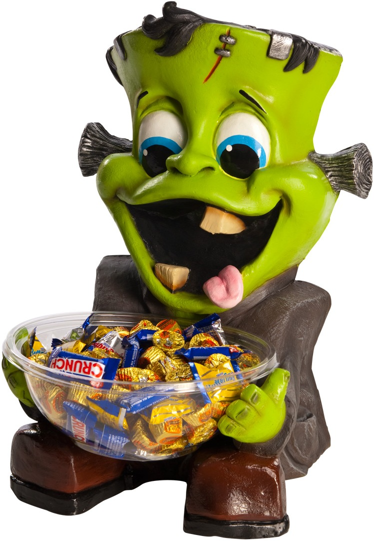 FRANKENSTEIN'S MONSTER CANDY BOWL