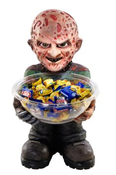 FREDDY KRUEGER HALLOWEEN CANDY BOWL